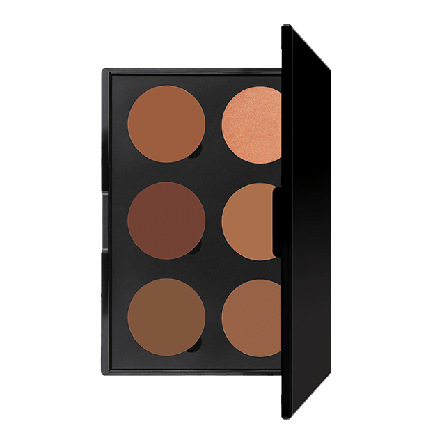 6 Well -  Contour Cream Palette - Ivory